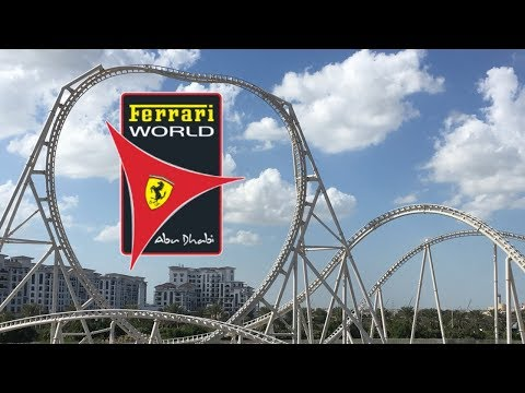 Ferrari World Abu Dhabi Vlog January 2018