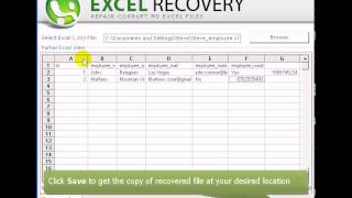 Excel Recovery Software To Repair Corrupt MS Excel File