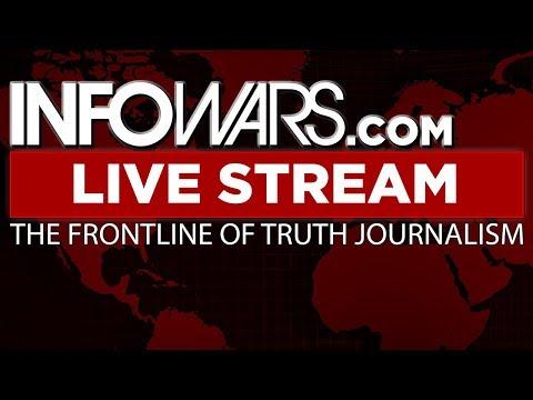 LIVE 📢 Alex Jones Infowars Stream With Today's LIVE Shows • 9AM til 7PM ET • Wednesday 10/18/17