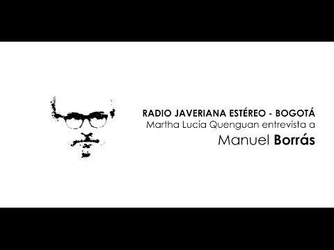 Audio de la entrevista a Manuel Borrás en Radio Javeriana Estéreo - Bogotá