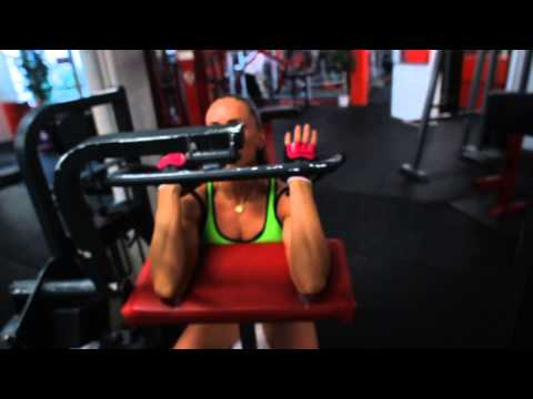 Workout with Sexy Female Fitness Model – Olga Kickenberg IFBB Figure Athlete