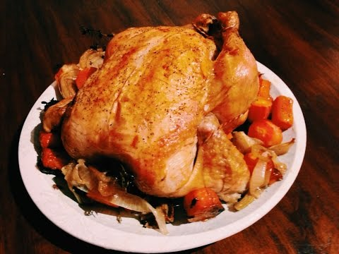 Christmas Roast Chicken For Dinner !!! jamaica chef Chef Ricardo Cooking
