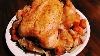 Christmas Roast Chicken For Dinner !!! jamaica chef Chef Ricardo Cooking