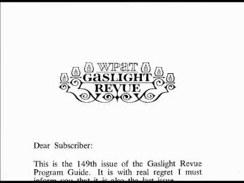 WPAT 1968 Gaslight Revue Stereo Music Set