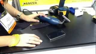 Power tools test iPhone screen protector