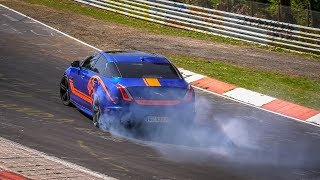 FORBIDDEN DRIFTS AT THE NÜRBURGRING - Nordschleife Best of Drifts, Slides & Fails!