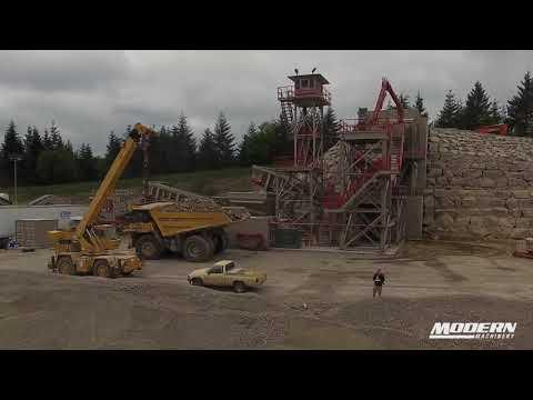 Komatsu PC2000 Mining Shovel And Amazing Crushing Setup - J.L. Storedahl & Sons - Modern Machinery
