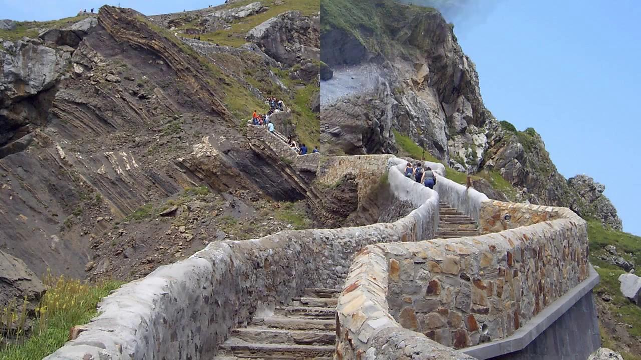 Gaztelugatxe Island, Bay of Biscay - Basque, Spain - YouTube