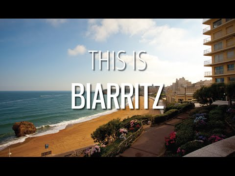 This is BIARRITZ - The Pearl of the Basque Country - FRANCE