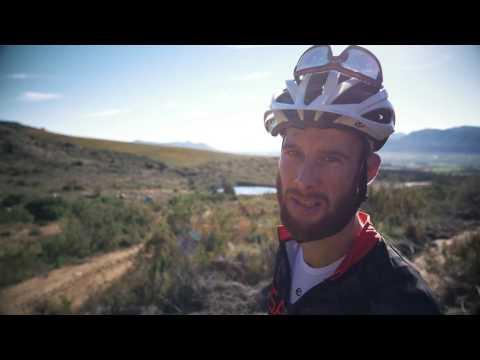 Renay explores Boschendal MTB trails
