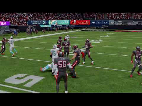 Madden NFL 21 very close game came down to last play |