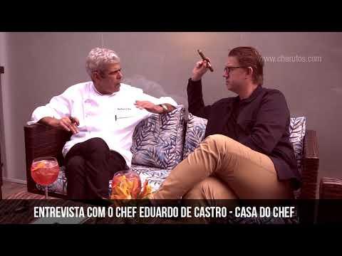 Entrevista com o Chef Eduardo de Castro
