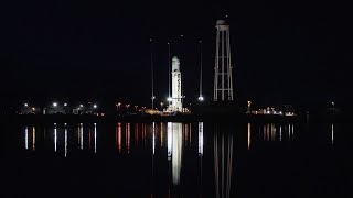 NG CRS-10: Antares 230 ready to launch SS John Young Cygnus spacecraft
