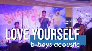 Love yourself - Justin Bieber (B-BOYS cover)