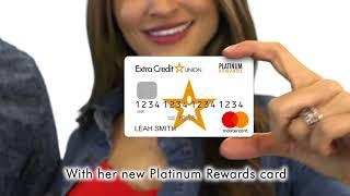 Introducing Extra Credit Union's Platinum & Platinum Rewards Mastercard®