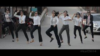 Pharell Williams - Happy - We Are From KUSOM (Kathmandu University School of Management) - KAF 2014