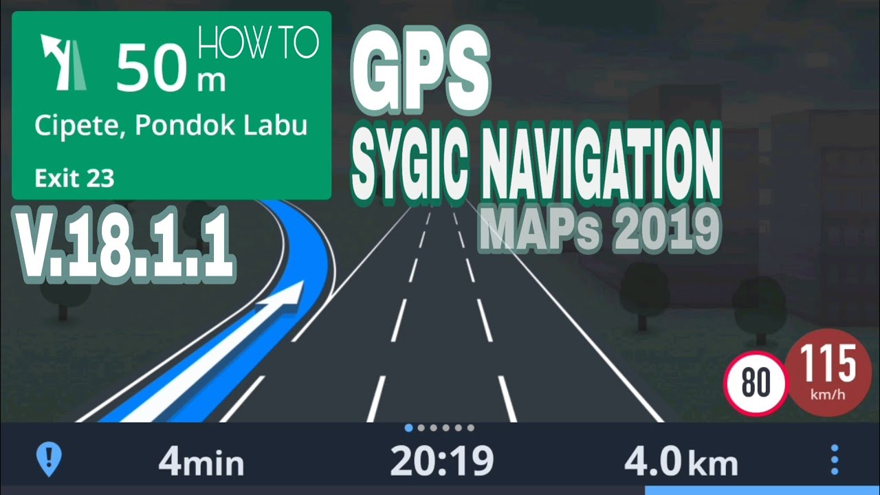 How To Install Sygic GPS Navigation V 18 1 1 | Latest Version Maps 2019