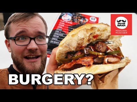 BURGERY INNE NIŻ WSZYSTKIE - Balkan Burger   GASTRO VLOG #100