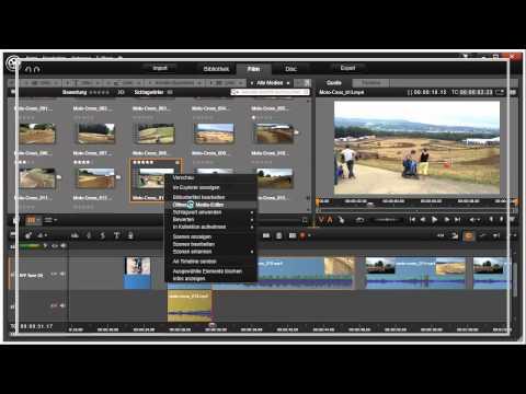 Rechte Maustaste nutzen in Pinnacle Studio 16 und 17 Video 66 von 114