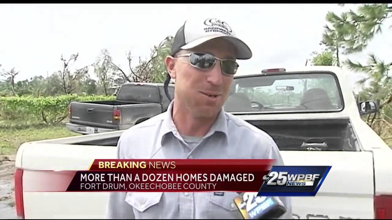 Possible tornado captured on video