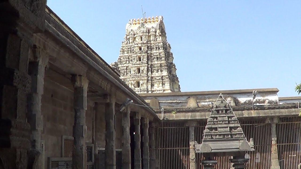 Ekambareswarar Temple Kanchipuram - YouTube