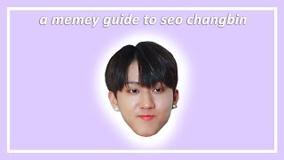 a memey guide to seo changbin (stray kids)