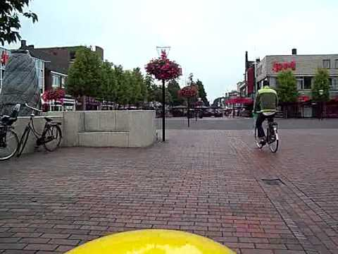 The Centre Of Hoogeveen, A Cycle And Pedestrian Centred Transformation