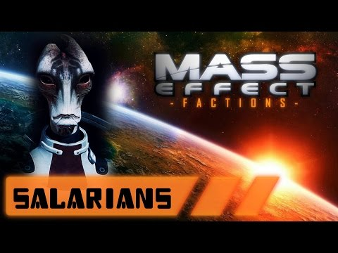 """Mass Effect Factions: """"The Salarian Union"""""""