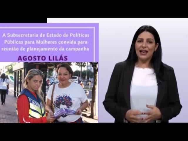 Prosa e Segredos: Agosto Lilás e Programa Maria da Penha Vai à Escola