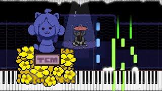Undertale // Memory | LyricWulf Piano Tutorial on Synthesia // OST 34