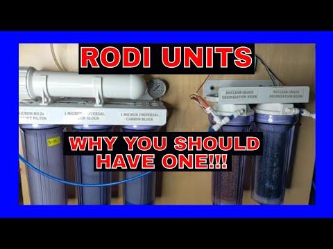 RODI Units - Why You Need One - Reef Tank Husbandry