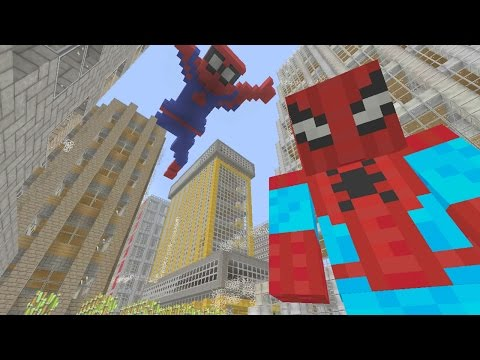 Spiderman Homecoming (Trailer Scene) - Minecraft XBOX Hide and Seek
