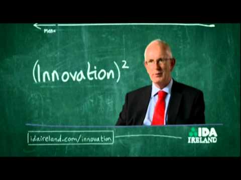 Barry O'Leary CEO of IDA Ireland Talks About Innovation