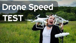 Speed Test! Phantom 4, Yuneec, Inspire 1, Phantom 3 Drone