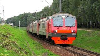 ЭД4М-0261 сообщением Москва Ярославский вокзал - Фрязино-Пасс.