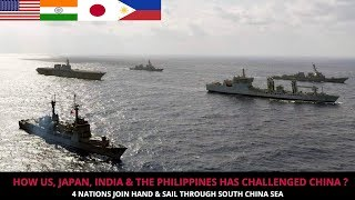 4 NATIONS CHALLENGE CHINA IN SOUTH CHINA SEA !!