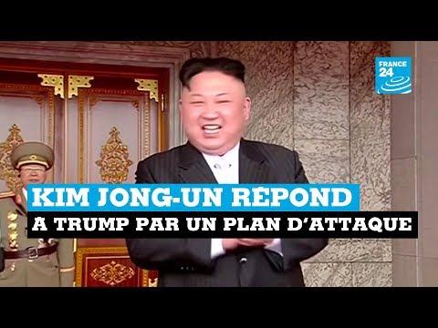 Corée du Nord vs États-Unis : Kim Jong Un répond à Trump par un plan d'attaque
