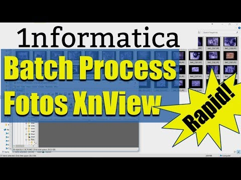 Batch Processing Photos With XnView - Photography Tutorial