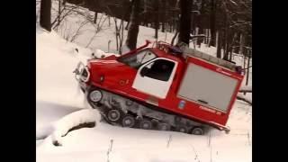 Пожарный вездеход ППСА 3(3409)-01НН