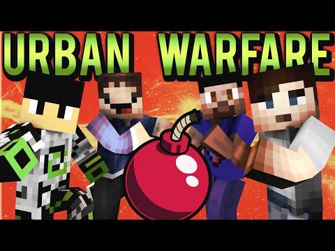 Minecraft URBAN WARFARE #1 - EXPLOSIVE PVP with Vikkstar, Nadeshot, Ali A & Woofless