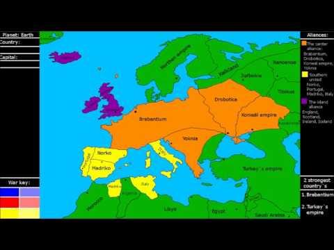 Alternate future of Europe 8# the Algerian war
