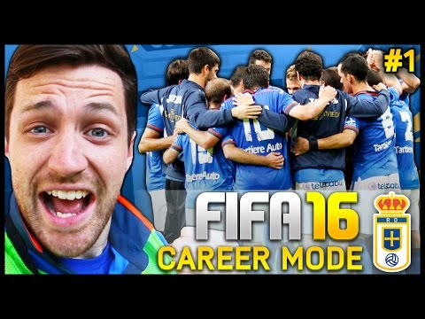 Real Oviedo Career Mode #1 - WE'RE BACK!!! - Fifa 16