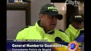Arriba Bogotá: General Guatibonza reporta disturbios en 3 localidades