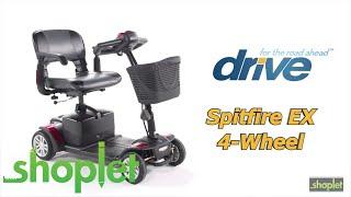 Drive Medical – Spitfire EX 4 Wheel Scooter