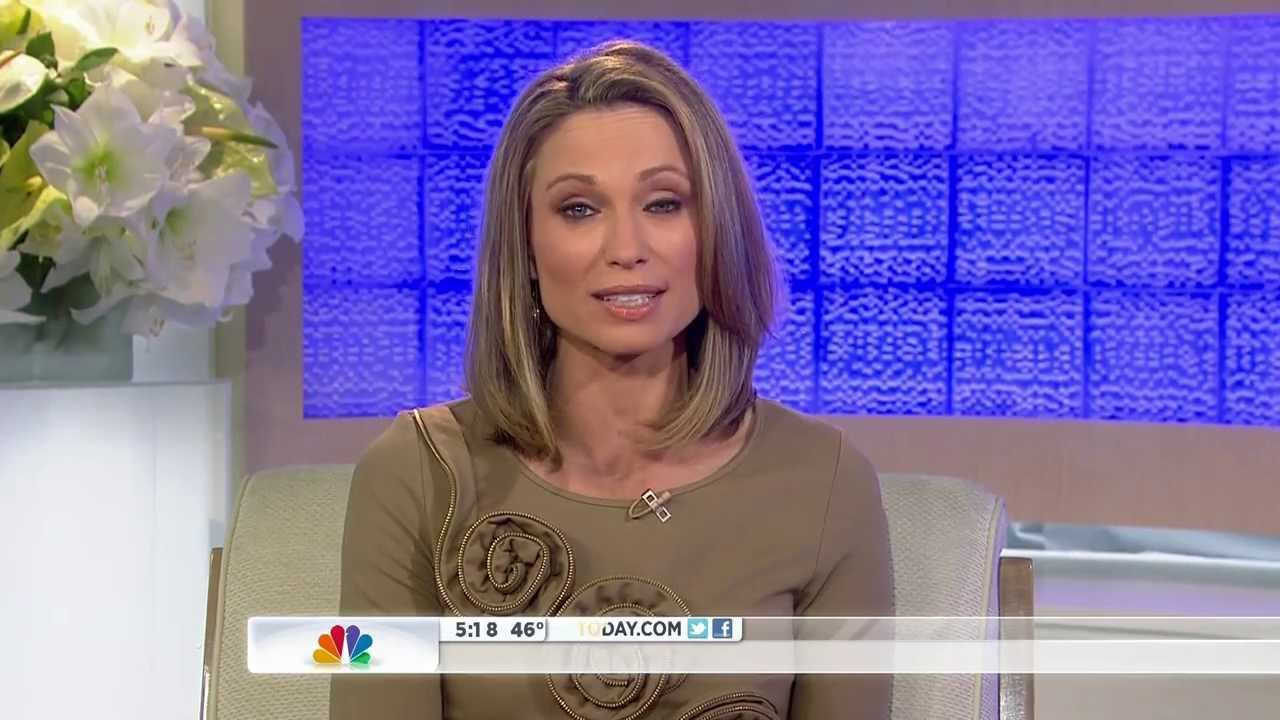 what happened to amy robach on today