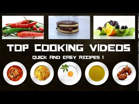 Intro Top Cooking Videos NEW Recipes Channel | Intro Nouvelle Chaîne Recettes Top Cooking Videos