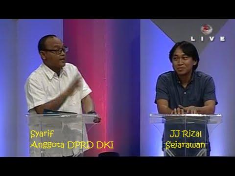 JJ Rizal Dan Anggota DPRD DKI Dihajar Anton Medan Dalam DEBAT Terkait Ahok Relokasi Kampung Pulo.