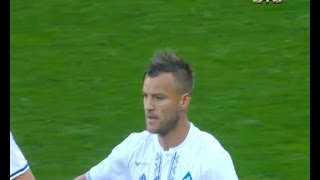Динамо - Александрия - 1:0. Гол: Андрей Ярмоленко (7