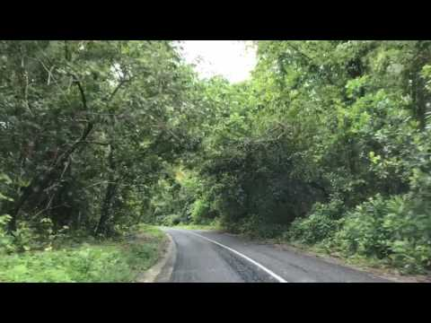 A journey on road in Manus Island