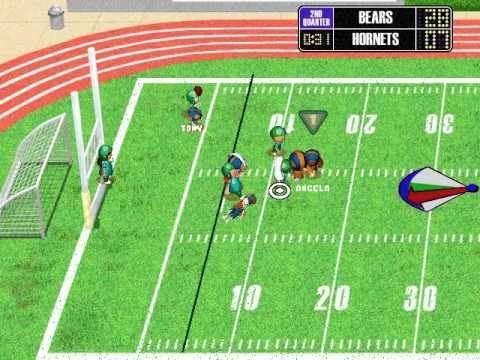 backyard football 2002 season playthrough game 8 chicago bears vs